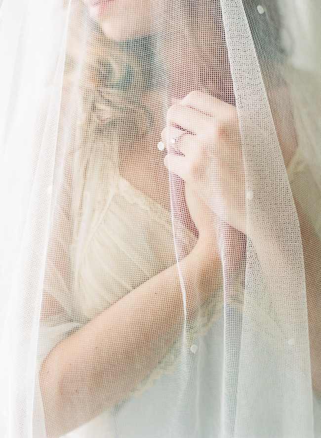 Lowcountry wedding veil by Shop Gossamer