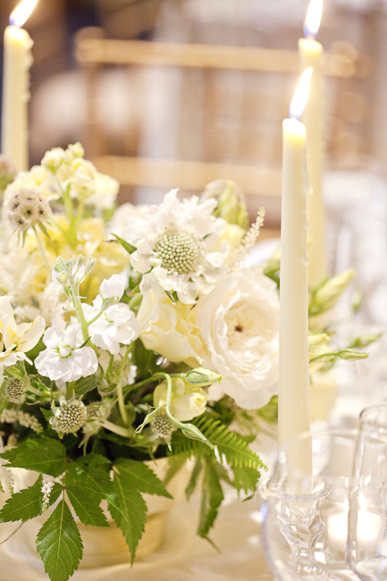 Charleston wedding centerpiece