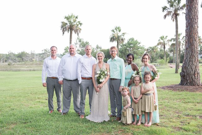 Savannah Bridal Party at Plantation Landing wedding
