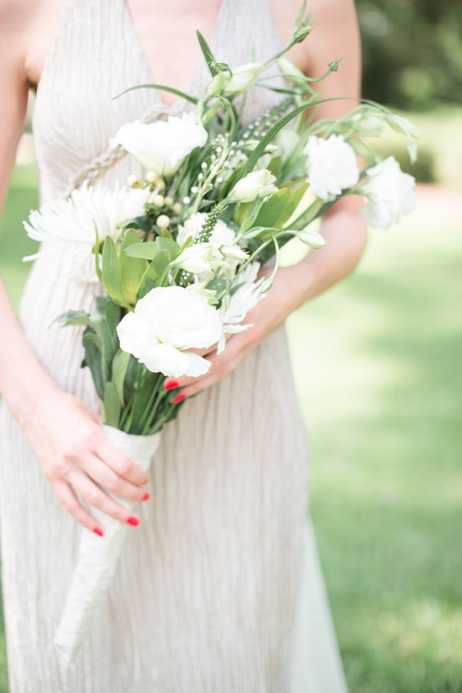 Savannah Wedding bouquet at Plantation Landing