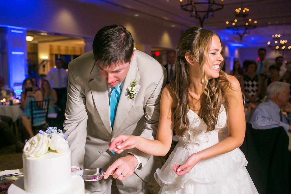 Daniel Island Club wedding reception in Charleston, SC by Carolina Photosmith