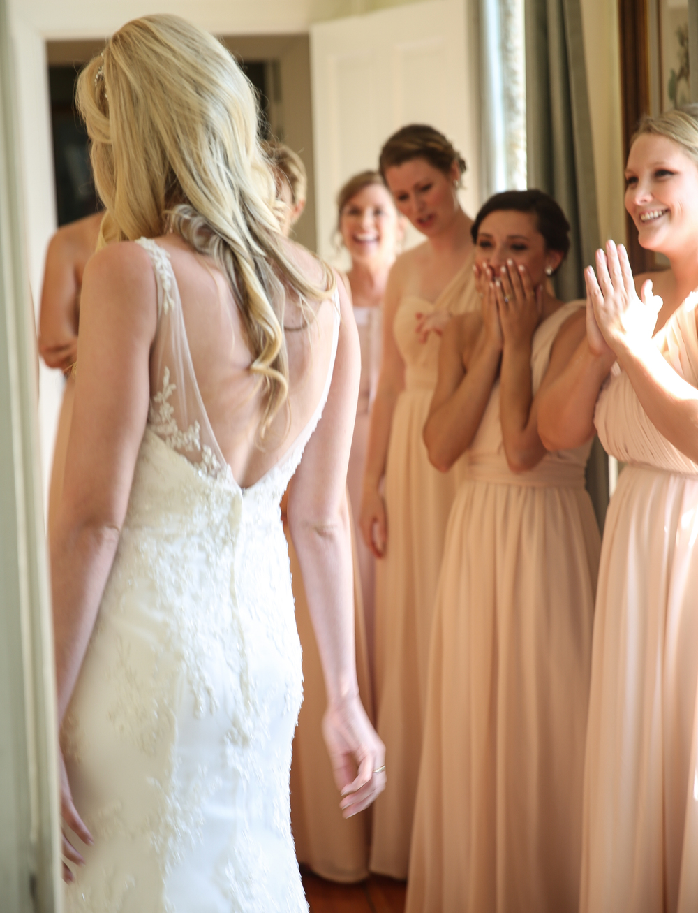 Lace House wedding ceremony by Jolie Connor Photography