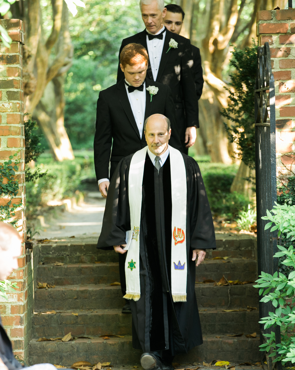 Lace House wedding ceremony in Columbia, SC