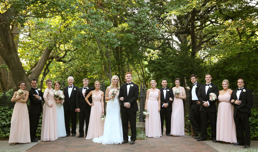 South Carolina Wedding bridal party by Jolie Connor Photography