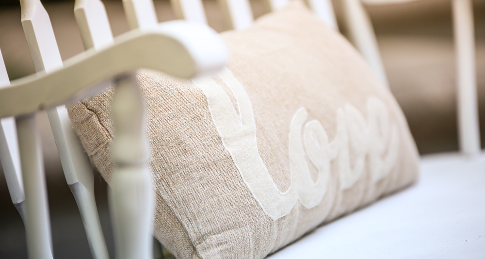 South Carolina Wedding burlap details at The Lace House