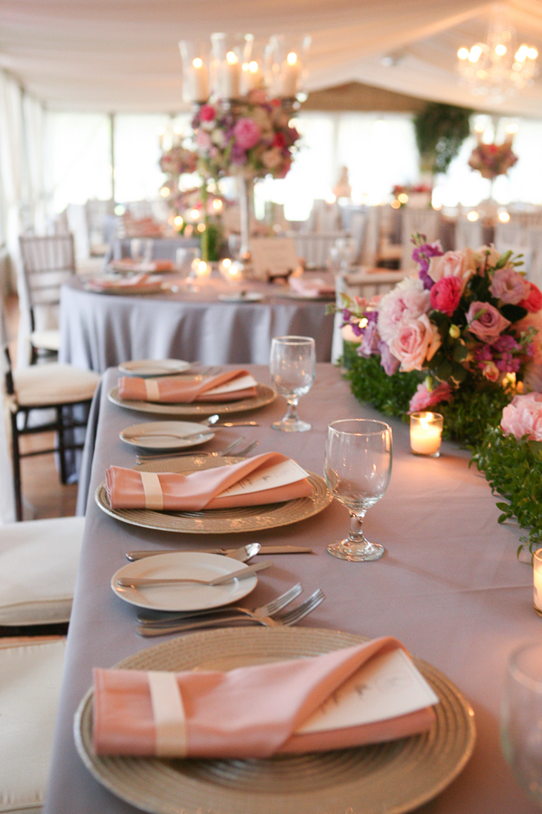 Pink Middleton Place Wedding