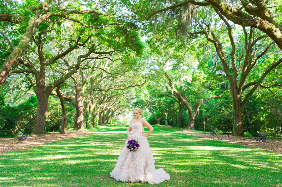 Legare Waring House wedding portrait in Charleston, SC by Priscilla Thomas Photography
