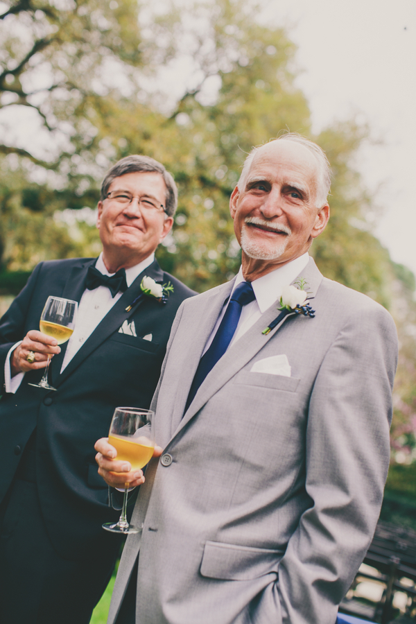 Father of the bride at Charleston wedding at the Thomas Bennett House by Hyer Images