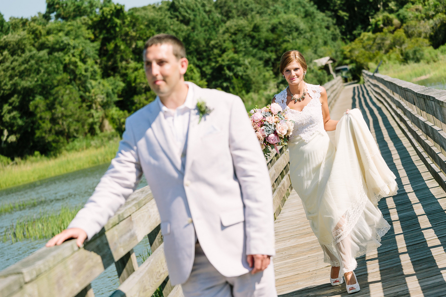 First Look at Myrtle Beach wedding by One Life Photography