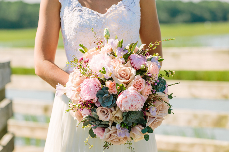 Myrtle Beach wedding bouquet by Callas Florist