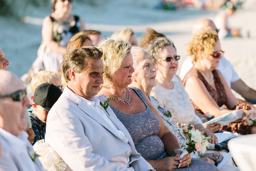 Myrtle Beach wedding ceremony by One Life Photography