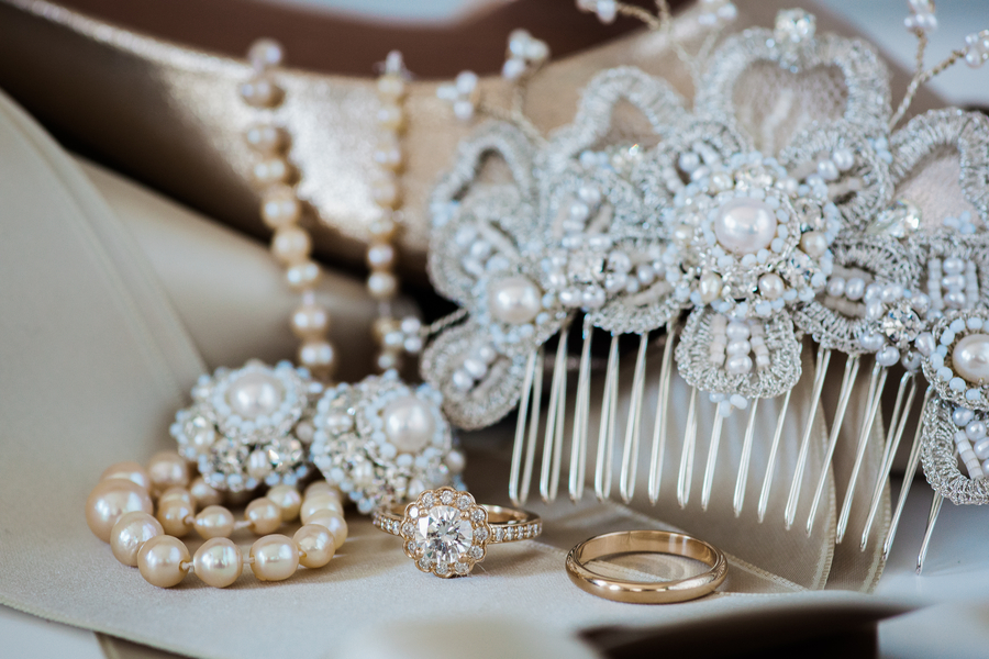 Charleston wedding jewelry