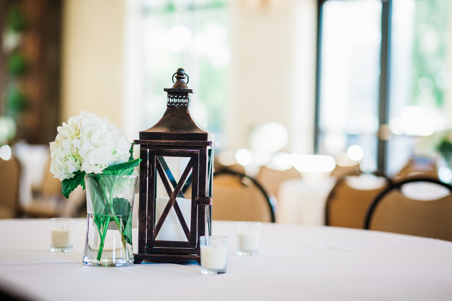 Charleston wedding decor at Cooper River Room