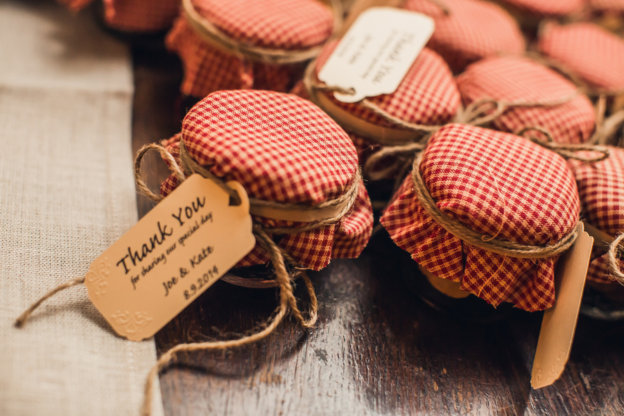 Charleston wedding favors at Historic Rice Mill Building by Richard Bell Photography