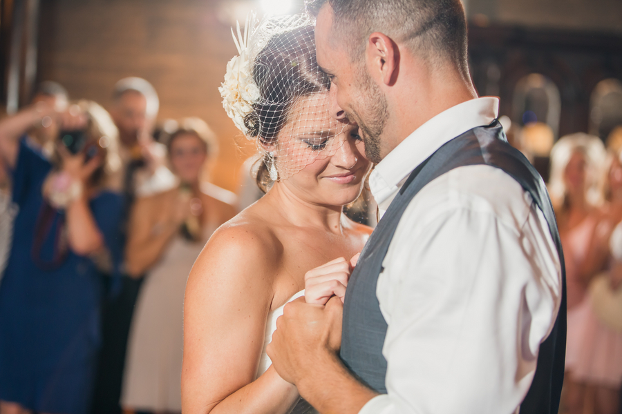 Charleston wedding reception at Historic Rice Mill Building by Richard Bell Photography