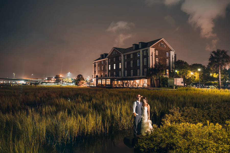 Historic Rice Mill Building wedding in Charleston, Sc by Richard Bell Photography