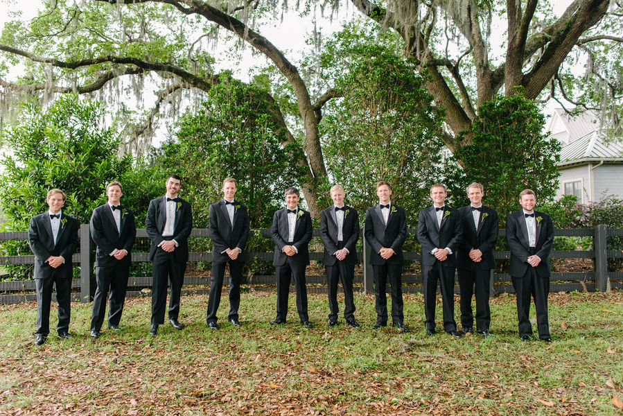 Charleston wedding at Boone Hall Plantation by Riverland Studios