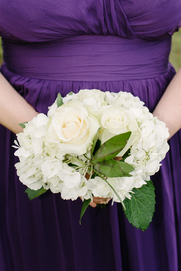 Purple Charleston wedding at Boone Hall Plantation by Riverland Studios