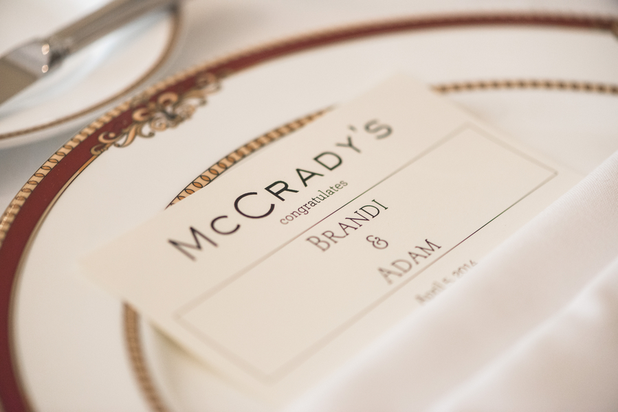 Peach + Gold Charleston Wedding at McCrady's Restaurant by Priscilla Thomas Photography