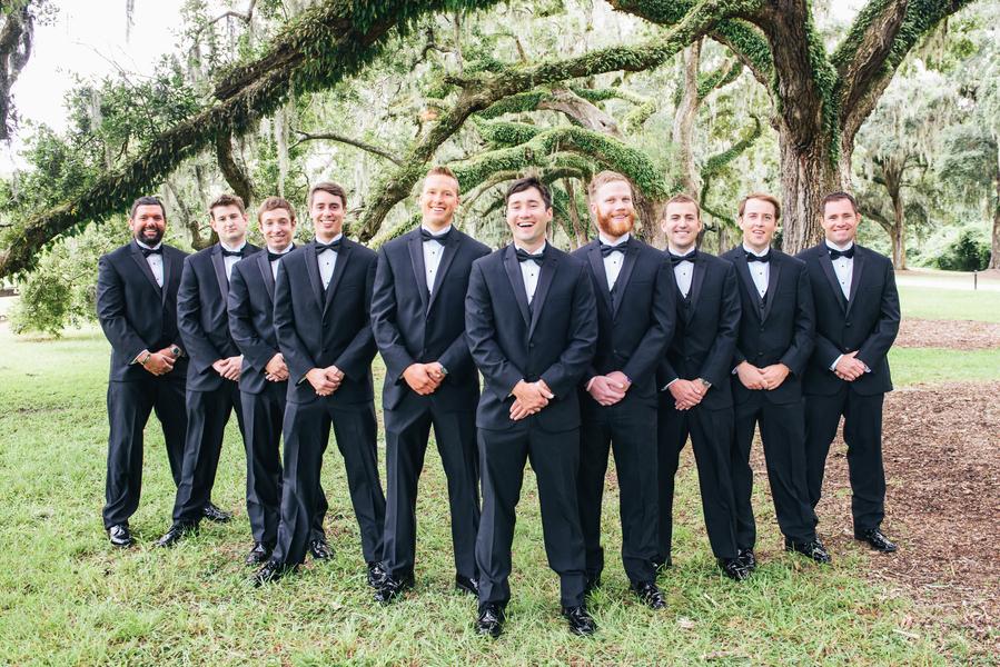 Charleston Wedding at Boone Hall Plantation by Riverland Studios