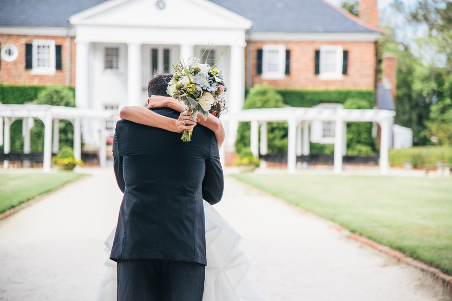 Pink Charleston Wedding at Boone Hall Plantation by The Burlap Elephant