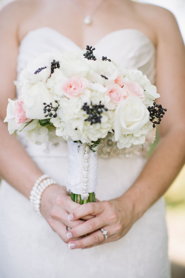 Southern Wedding bouquet at 403 North Lake Events by Alyson Taylor Events