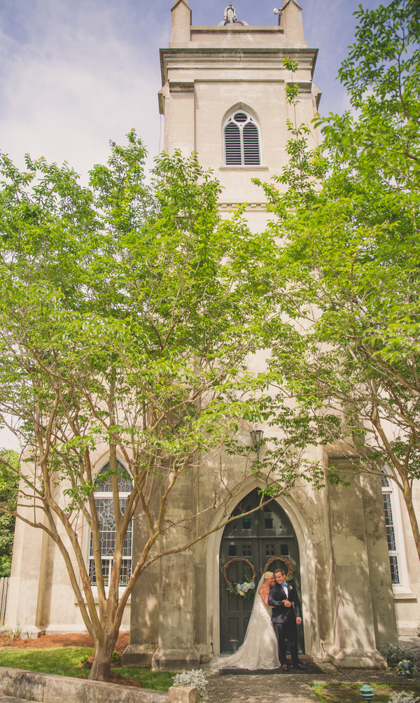 Charleston wedding at Stella Maris Catholic Church by Richard Bell Photography