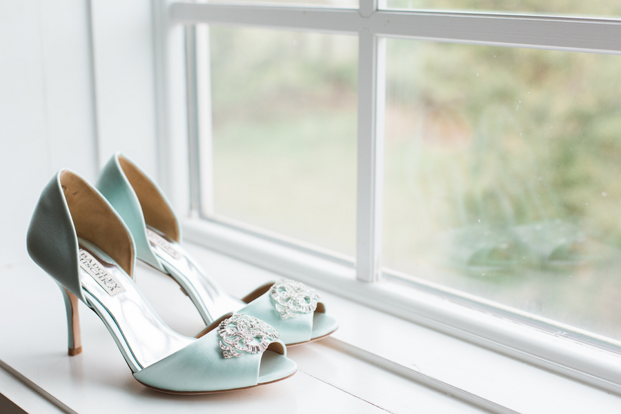 Fripp Island Wedding shoes by Riverland Studios