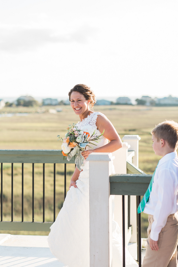 Lowcountry Wedding Boutonnieres at Fripp Island by Riverland Studios