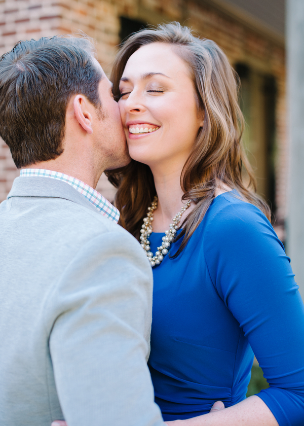 Southern Wedding Engagement by Britt Croft Photography