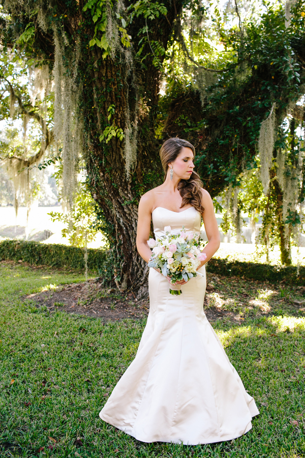 Harrietta Plantation wedding dress from White on Daniel Island
