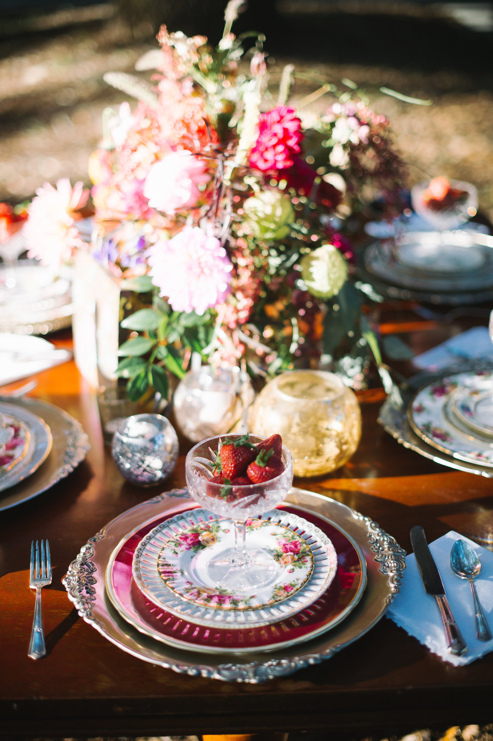 Gold and Cranberry Belfair Plantation Wedding Inspiration by Ivory + Beau and Rach Loves Troy Photography