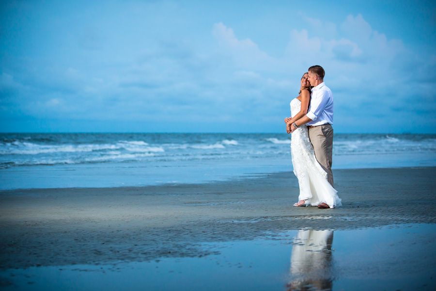 Beach Wedding at Omni Hilton Head Oceanfront Resort by David Strauss Photography