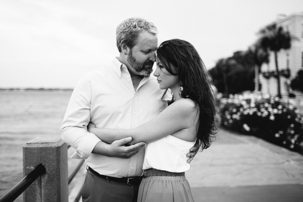 Charleston Wedding Engagement at the Battery by Angela Cox Photography