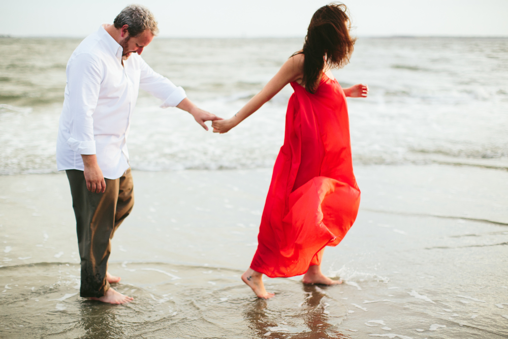 Beach Wedding Engagement in Charleston, SC