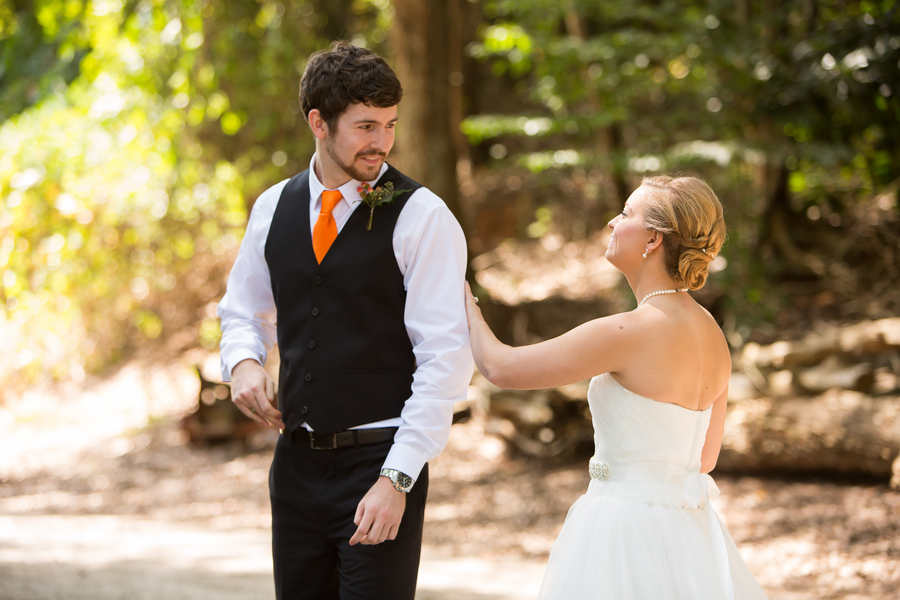 First Look at Sleepy Hollow Barn Wedding by Southern Jewel Photography
