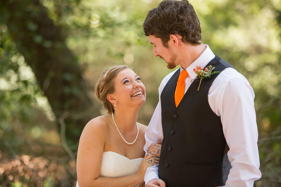 First Look Sleepy Hollow Barn Wedding by Southern Jewel Photography