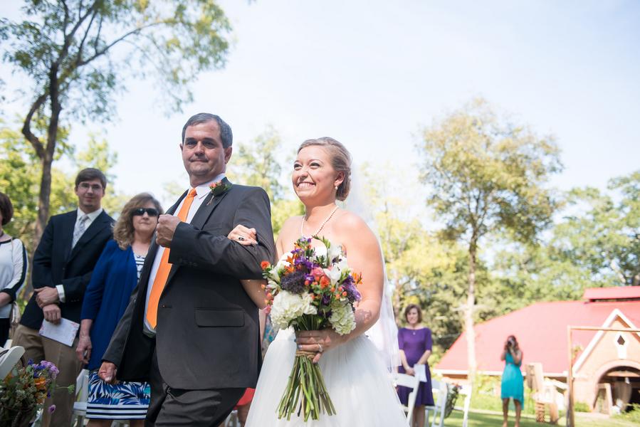 Kenny + Rachel's Sleepy Hollow Barn Wedding by Southern Jewel Photography