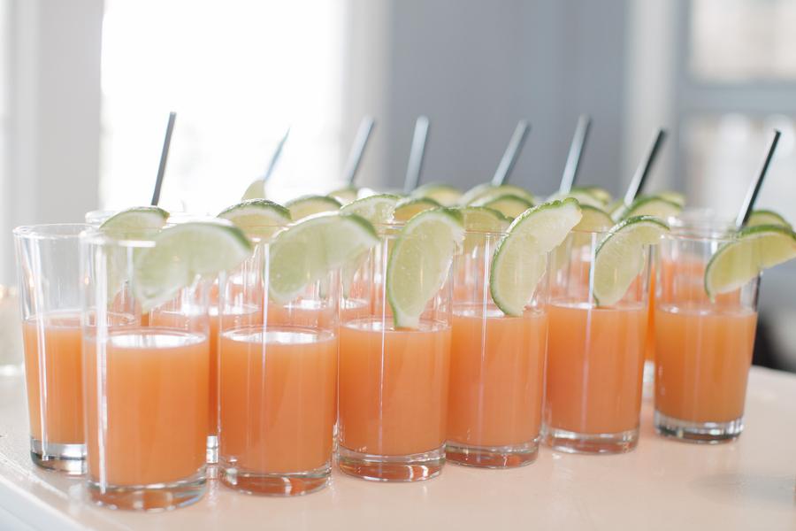 Specialty Drink at Sea Island Yacht Club Wedding