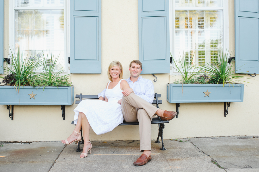 Charleston Engagement Session by Priscilla Thomas Photography