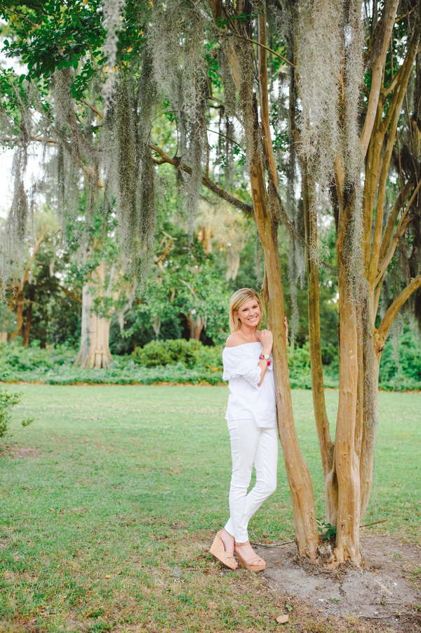 Charleston Engagement Session at Hampton Park by Priscilla Thomas Photography