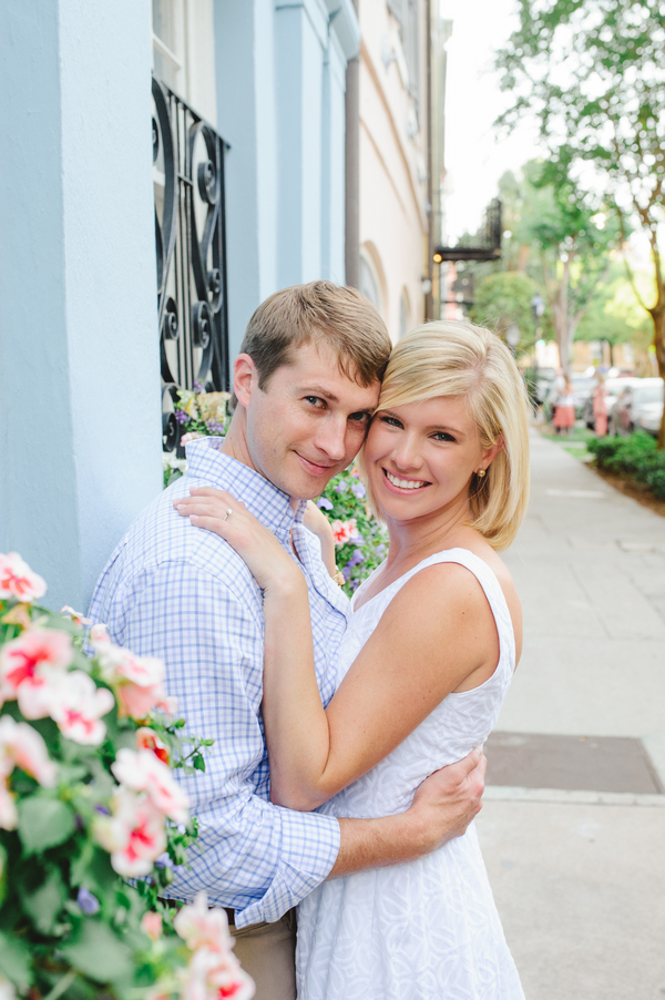 Chelsea + Todd's Charleston Engagement Session
