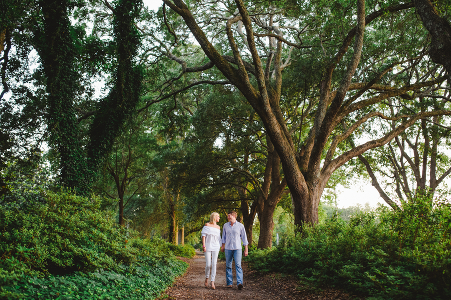 Charleston Engagement Session at Hampton Park