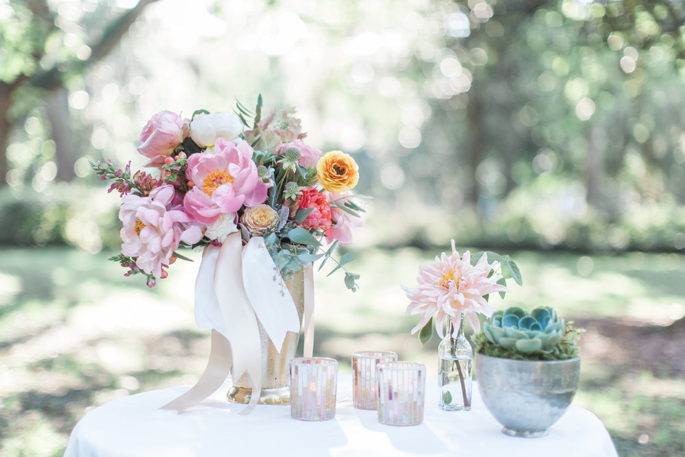Savannah Wedding Inspiration by Colonial House of Flowers and Apt B Photography