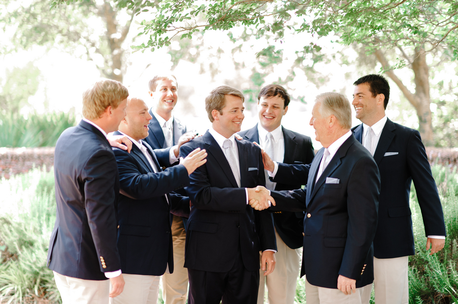 Groomsmen at Myrtle Beach Wedding at Pine Lakes Country Club