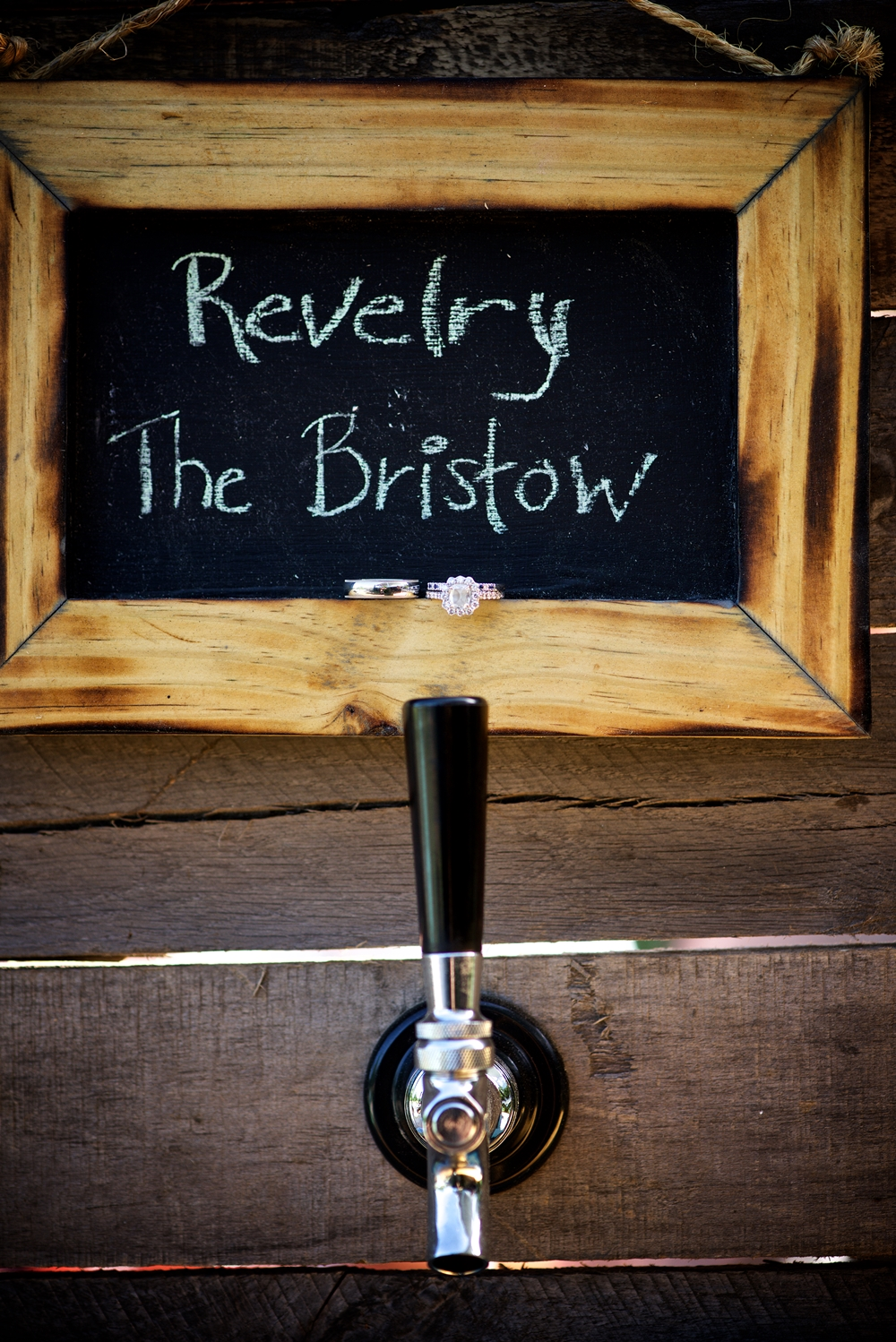 Beers on Tap from Revelry Brewing Co. at Christine Kohler + Brook Bristow's Summer Old Wide Awake Plantation wedding