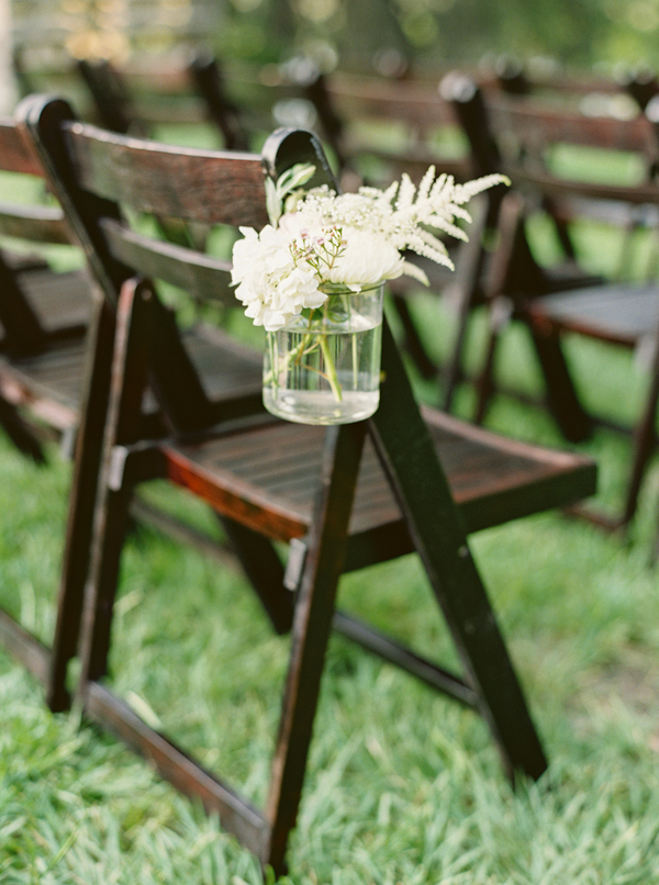 Charleston Wedding Aisle Decor