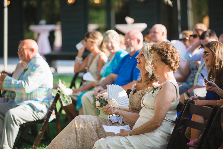 Magnolia Plantation Outdoor Wedding Ceremony by JoPhoto