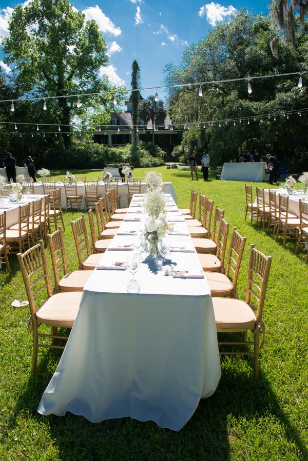 Spring wedding at Charleston's Magnolia Plantation and Gardens