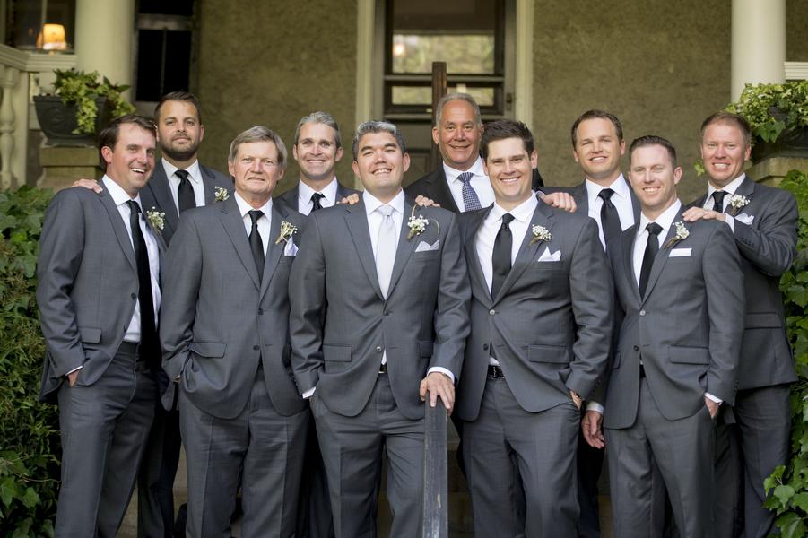 Groomsmen at Charleston wedding
